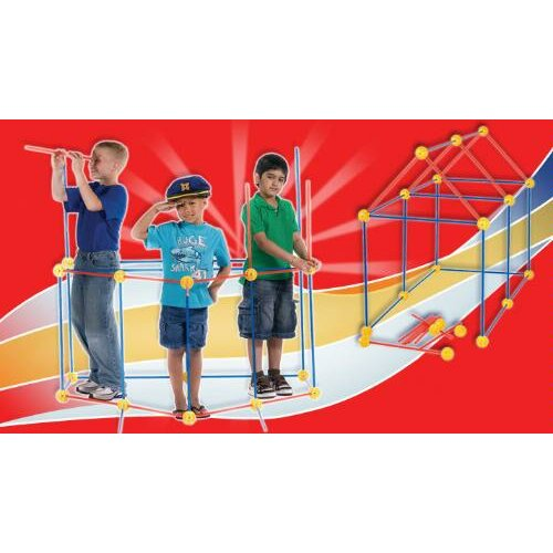 TooBeez EZ Fort 54 Piece Building Kit