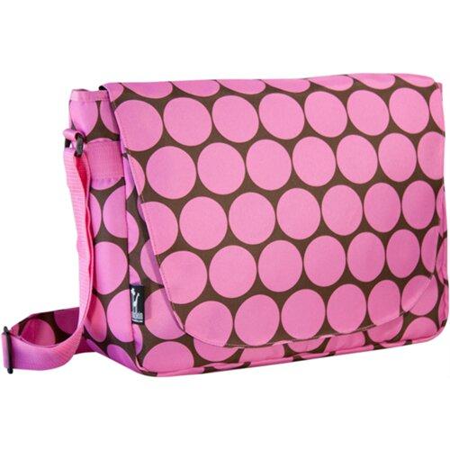 Big Dots Laptop Messenger Bag
