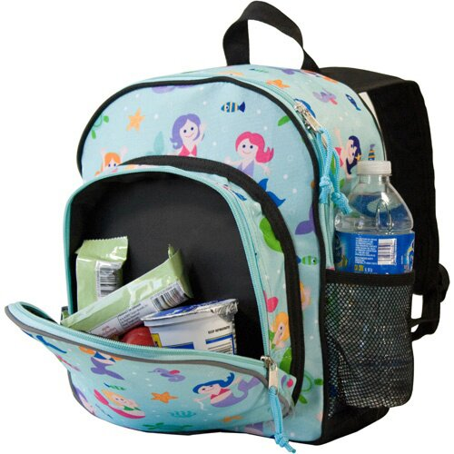 "Wildkin Olive Kids Mermaids Pack ""N Snack Backpack"