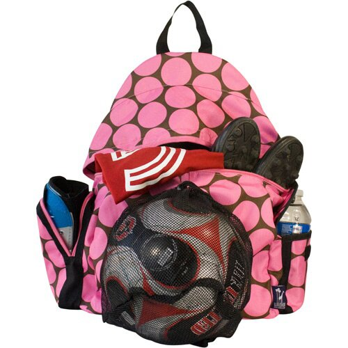 Wildkin Ashley Big Dots Soccer Bag