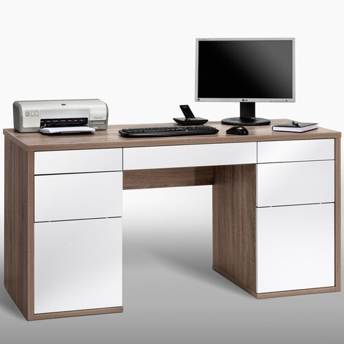 Maja 4 Drawer Computer Desk