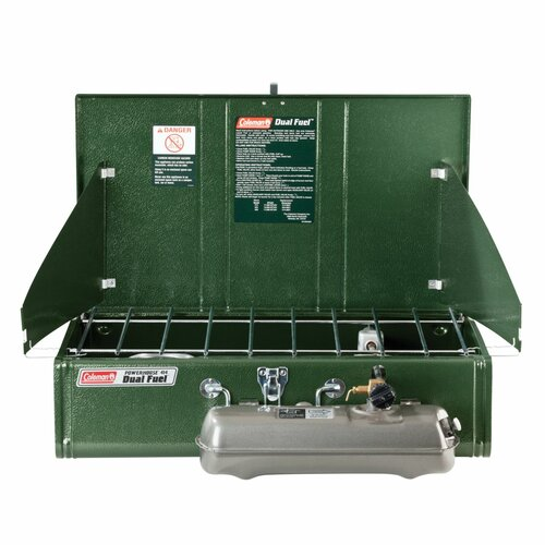 Coleman Powerhouse 2 Burner Dual Fuel Stove