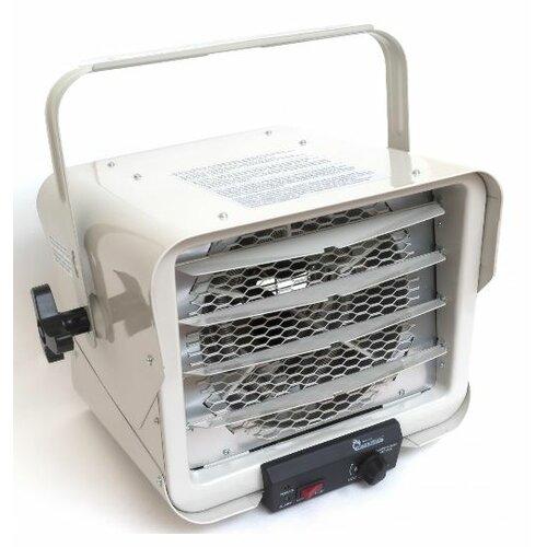 Dr infrared heater 3000w 6000w hardwired shop garage for Infrared garage heaters