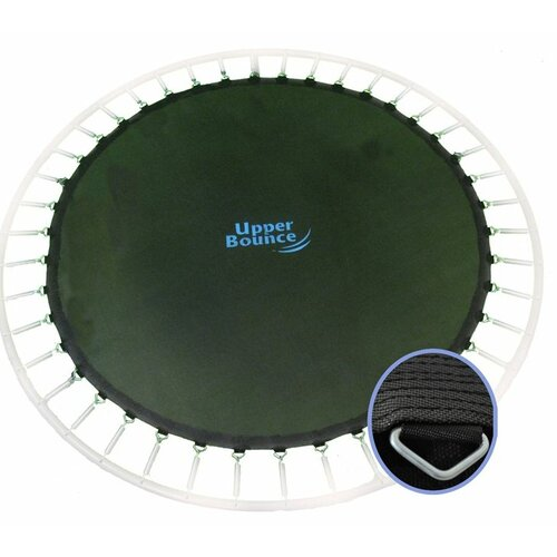 """Upper Bounce Jumping Surface for 12' Trampoline with 80 V-Rings for 5.5"""" Springs"""