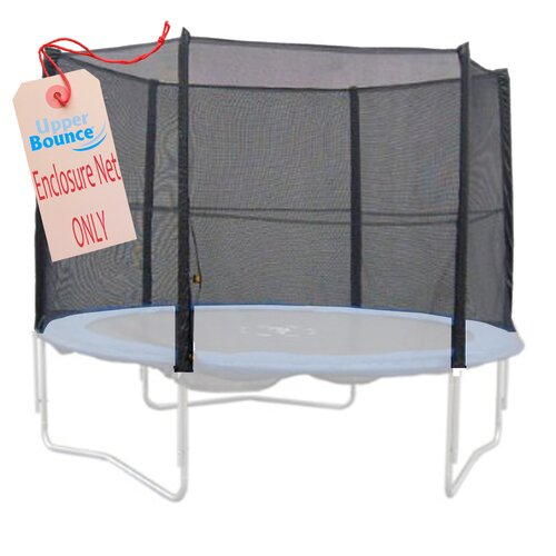 Upper Bounce 12' Trampoline Net using 6 Straight Poles