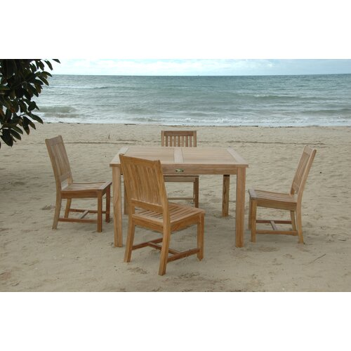 Anderson Teak Windsor 5 Piece Dining Set