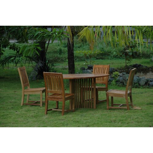 Anderson Teak Mission 5 Piece Dining Set