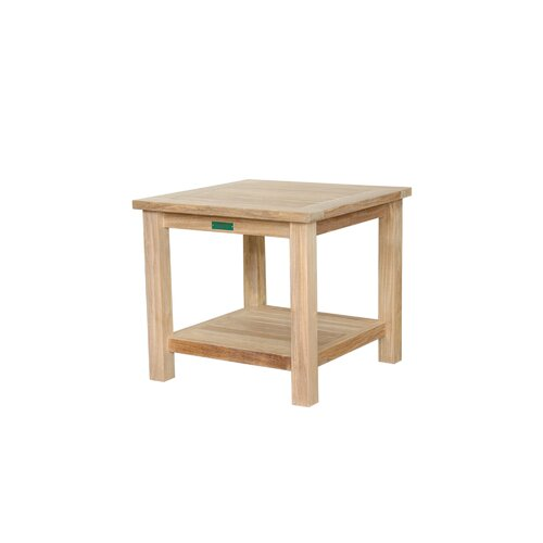 Anderson Teak Square Two Tier Side Table