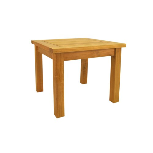"Anderson Teak Bahama 20"" Square Mini Table"