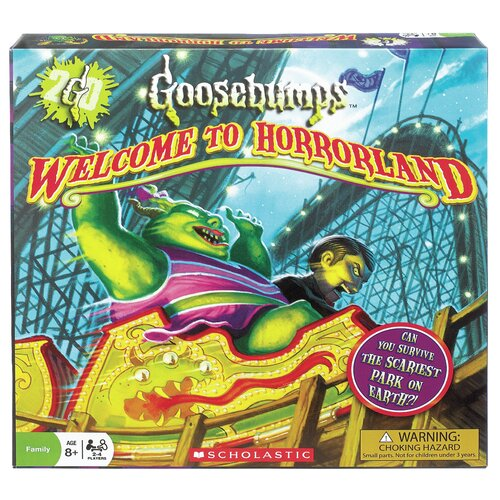 POOF-Slinky, Inc Goosebumps Welcome to Horrorland Board Game