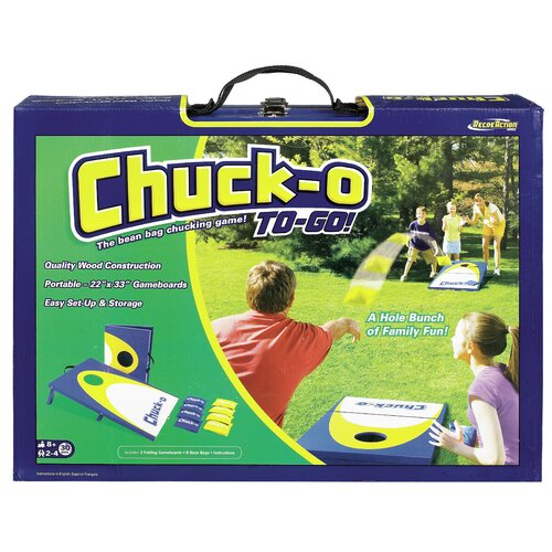 POOF-Slinky, Inc Chuck-O To Go Classic Bean Bag Toss Game