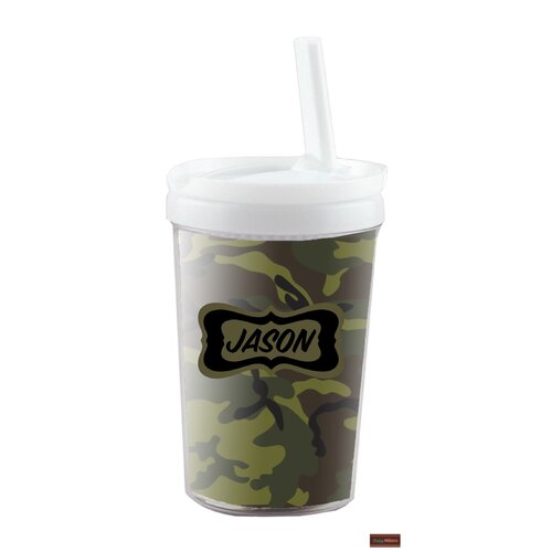 Camo 8 oz Kid's Insulated Tumbler