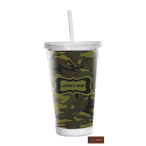 Camo 16 oz Double Wall Insulated Tumbler