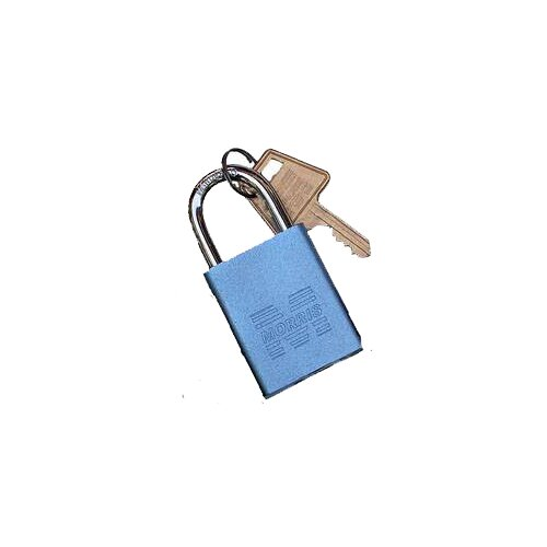 Morris Products Hardened Steel Different Keyed Padlocks