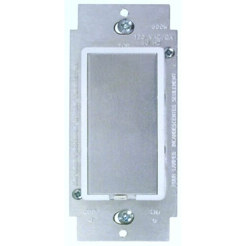 Morris Products Touch Single Pole Dimmer in White