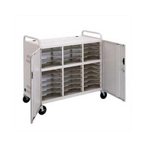 Da-Lite 30-Compartment Storage Cart