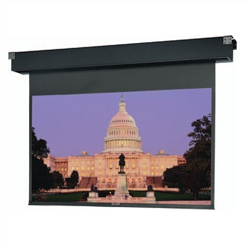Da-Lite Dual Masking Electrol High Contrast Matte White Electric Projection Screen