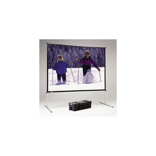 "Da-Lite Fast Fold Deluxe Dual Vision 90"" H x 120"" W Portable Projection Screen"