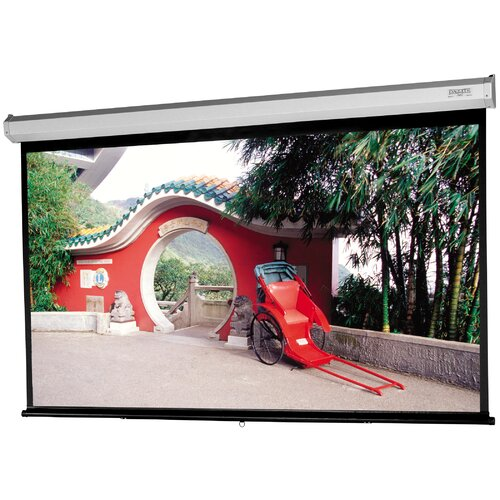 "Da-Lite Model C with CSR Silver Lite 2.5 72"" Diagonal Manual Projection Screen"