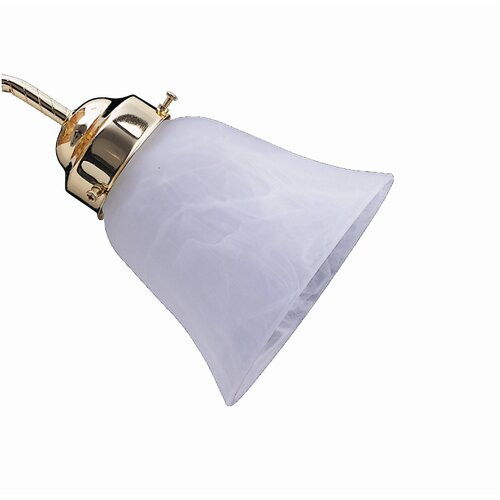 """Concord Fans 5"""" Glass Bell Ceiling Fan Shade"""