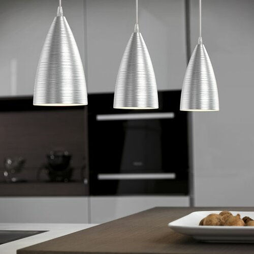 Garetto 3 light pendant light wayfair uk - Lampade a sospensione per cucina ...
