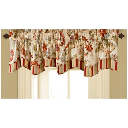 "Waverly Charleston Fresh Chirp 50"" Curtain Valance"