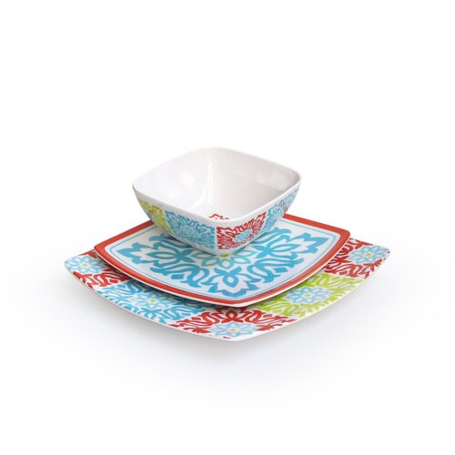 Sweet Things 12 Piece Dinnerware Set