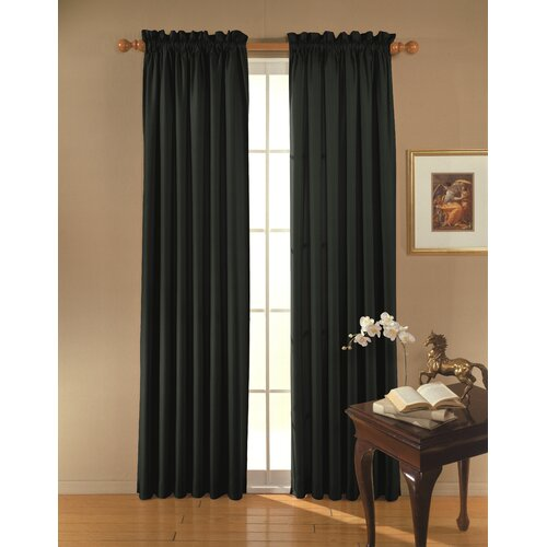 Eclipse Curtains Clark  Rod Pocket Window Curtain Single Panel