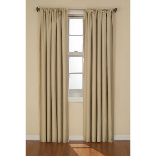 eclipse curtains kendall window single curtain panel