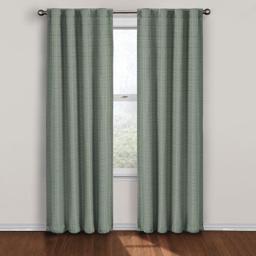 United curtain co batiste half rod pocket door curtain single panel - United Curtain Co Batiste Half Rod Pocket Door Curtain
