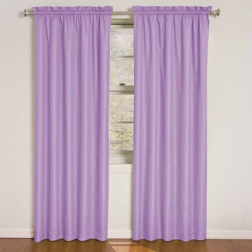Eclipse Curtains Kids Wave Rod Pocket Window Curtain Single Panel