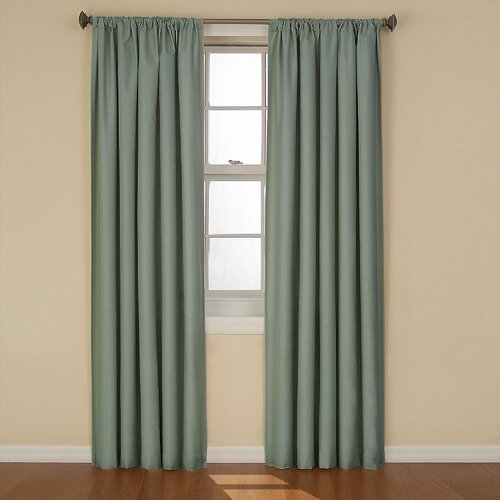 Eclipse Curtains Kendall Rod Pocket Window Curtain Single Panel