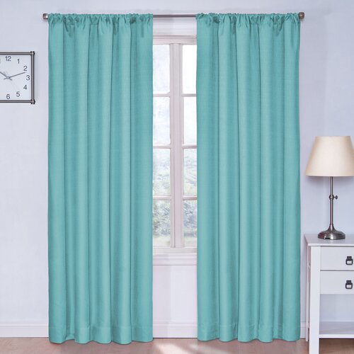 Eclipse Curtains Kids Kendall Rod Pocket Window Curtain