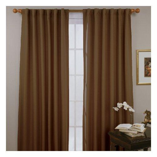 Eclipse Curtains Fresno Rod Pocket Window Curtain Single Panel