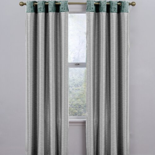 Eclipse Curtains Venetian  Grommet Window Curtain Single Panel