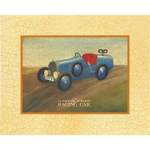 Racing Car Canvas Art