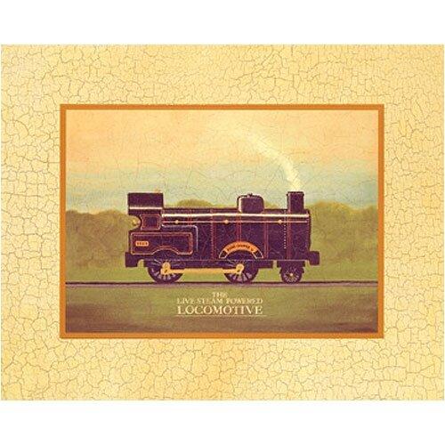 Locomotive Canvas Art