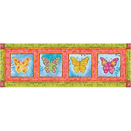 Art 4 Kids Way Cool Butterfly Series Canvas Art