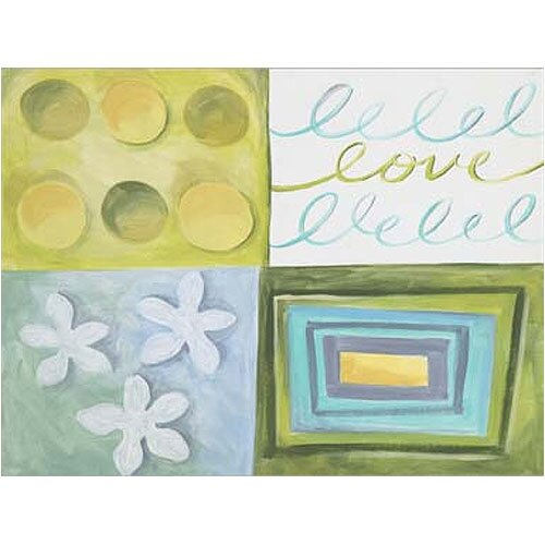 4 Piece Cool Love Canvas Art Set