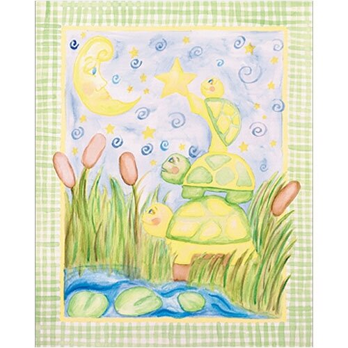 Turtle Walk Canvas Art