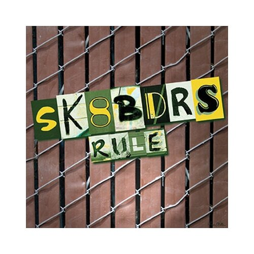 Art 4 Kids Sk8bdrs Rule Canvas Art