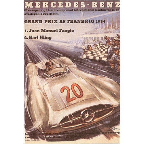 Mercedes Benz Canvas Art