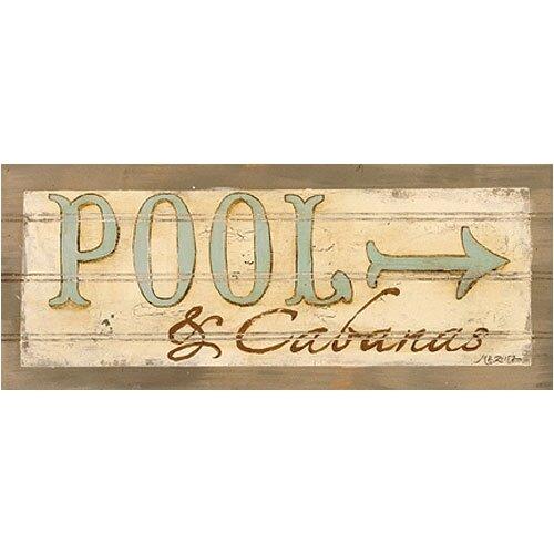 Pool & Cabanas Wall Art