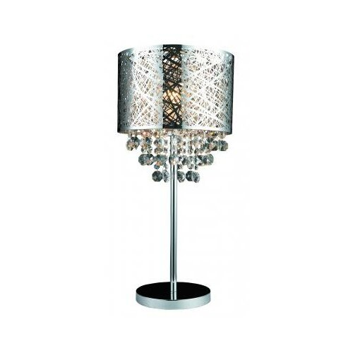 "Gen-Lite Helix 25"" H Table Lamp with Drum Shade"