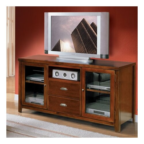 "Martin Home Furnishings Tribeca Loft - Cherry 63"" TV Stand"