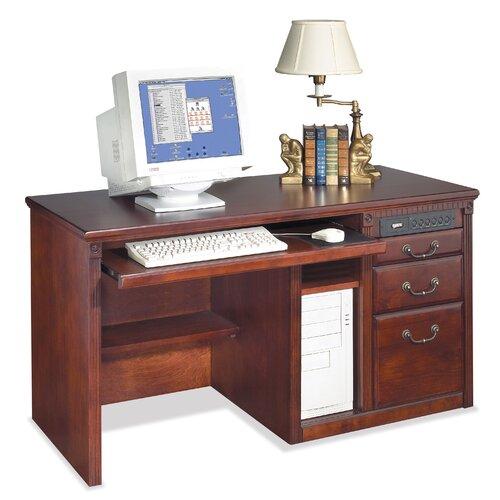 Huntington Club Single Pedestal Computer Desk