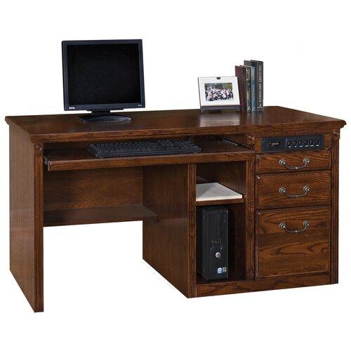 Huntington Oxford Single Pedestal Computer Desk