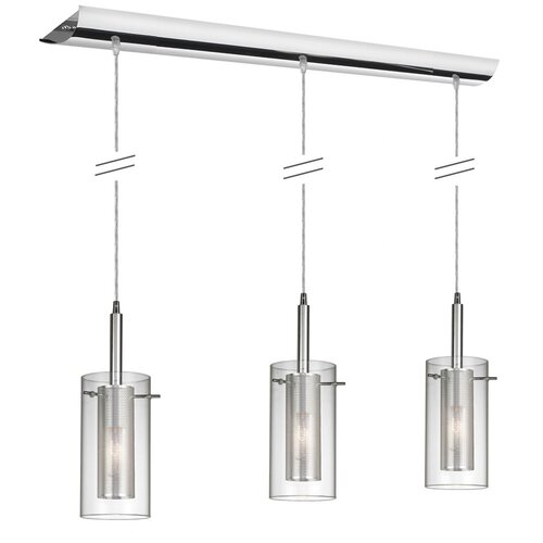 Dainolite Pendant Series 3 Light Kitchen Island Pendant