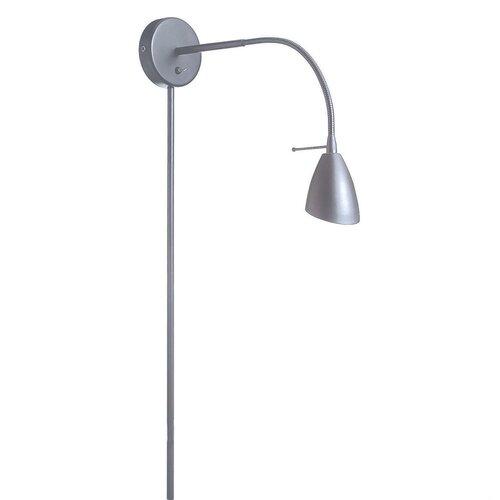 Dainolite Contemporary Gooseneck Wall Lamp