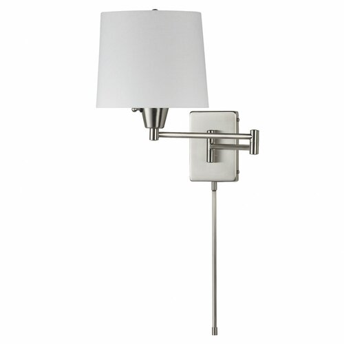 Wall Sconce Swing Arm Light : Dainolite 1 Light Swing Arm Wall Sconce & Reviews Wayfair
